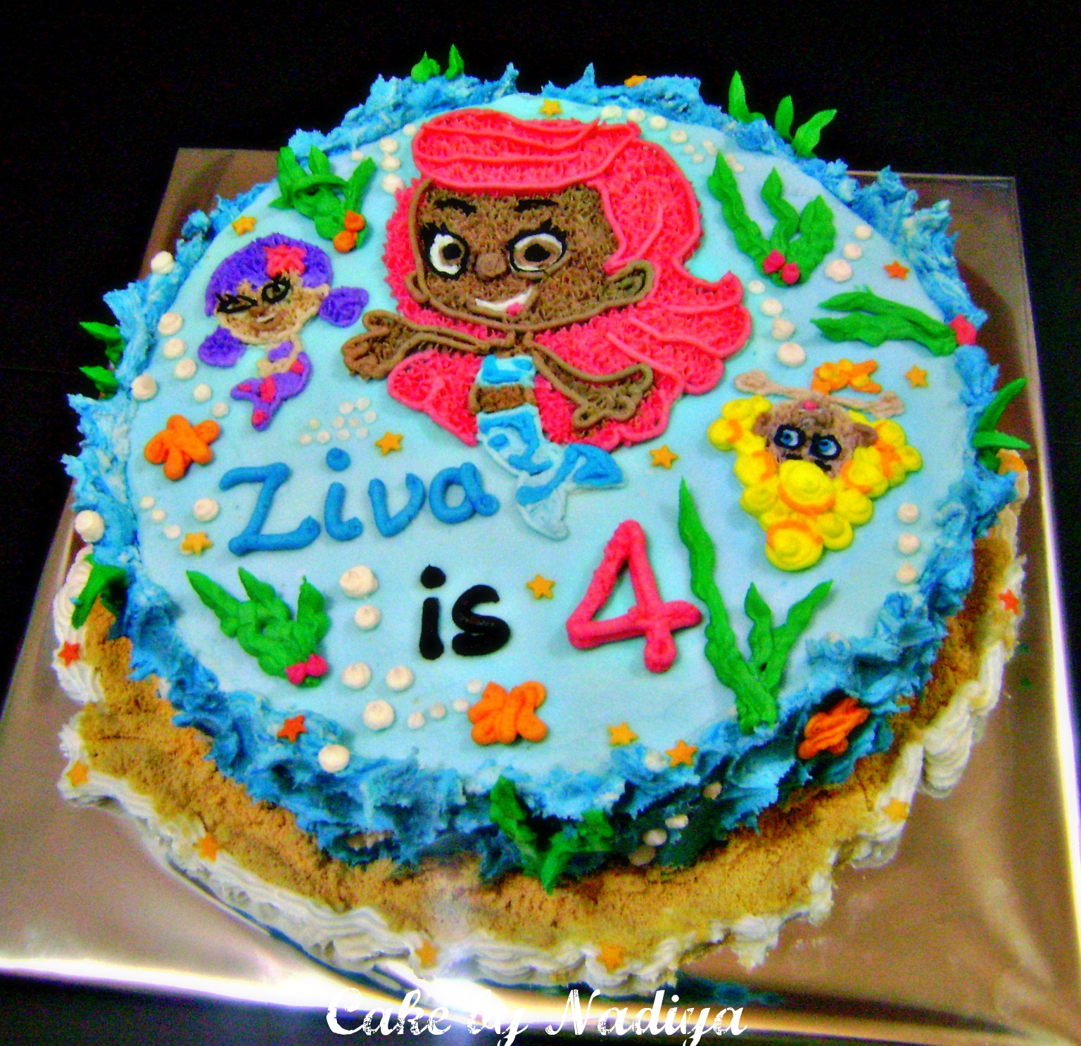 Bubble Guppies Frosting Cake Ideas And Designs
