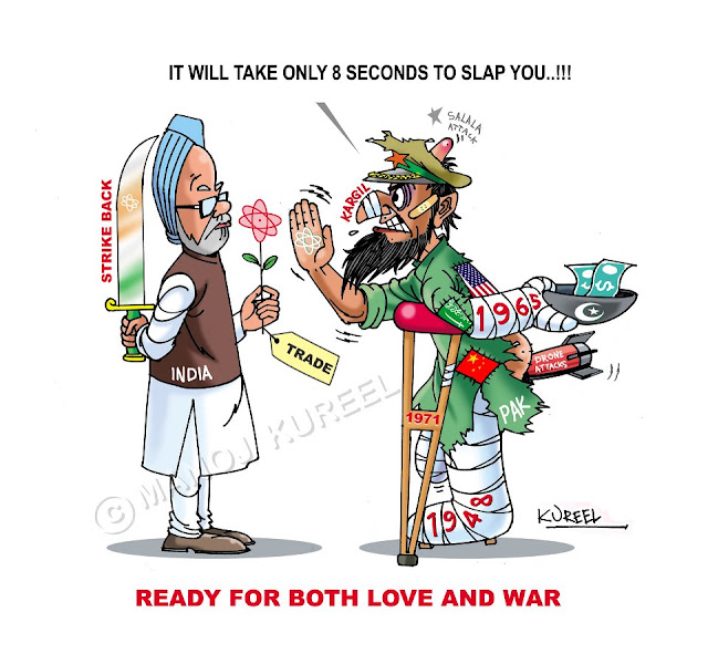Cartoons on Pakistan's current state by Manoj Kureel (5)