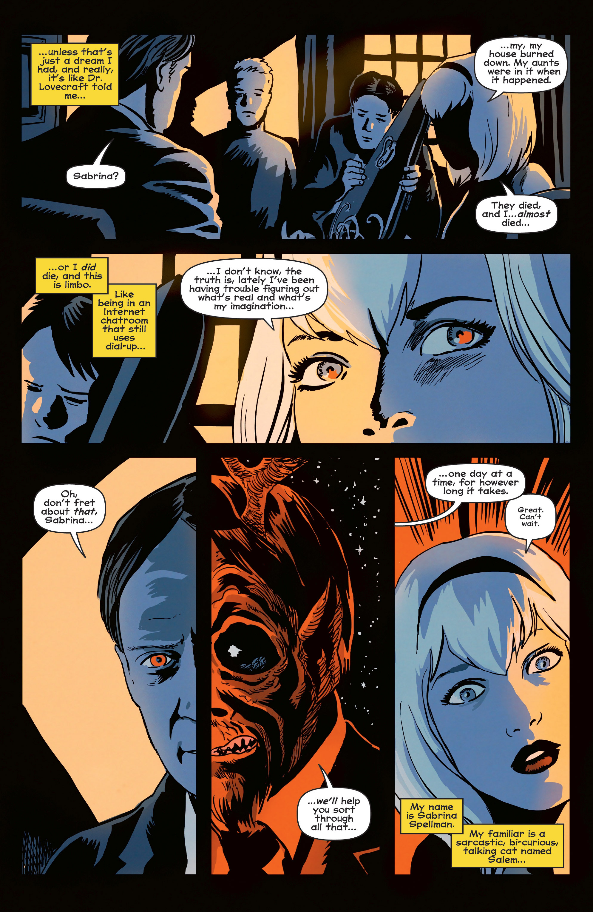 Read online Afterlife with Archie comic -  Issue #6 - 11
