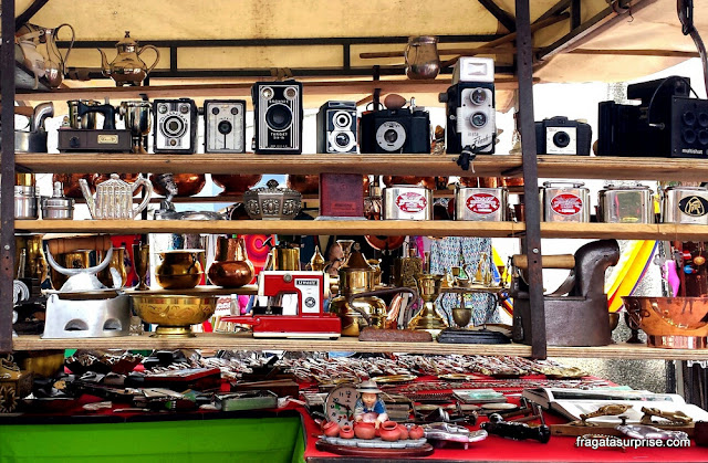 Mercado de Pulgas (feirinha) de Usaquén, Bogotá