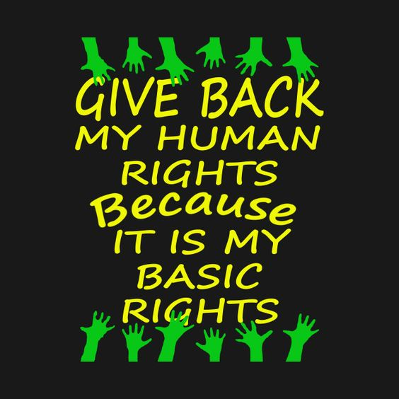 Fight for human Rights on this Human rights day 2016