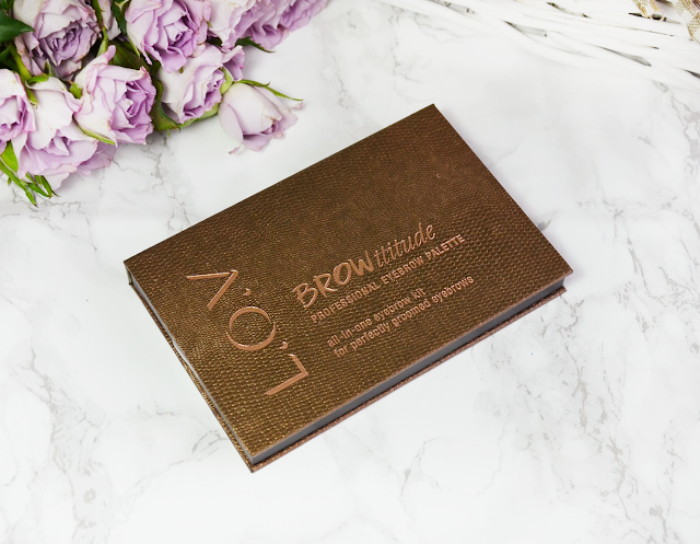 Perfect Brows with L.O.V BROWlights Eyebrow Pomade & Highlighter and BROWttitude Professional Eyebrow Palette