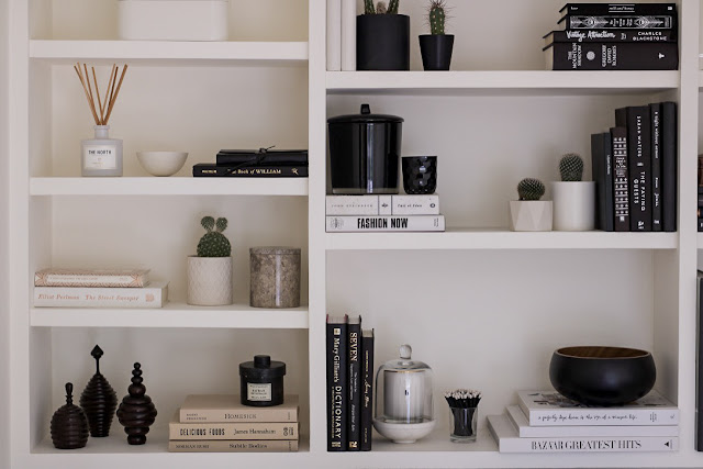 Erica Cook Home Office Update Shelf Styling