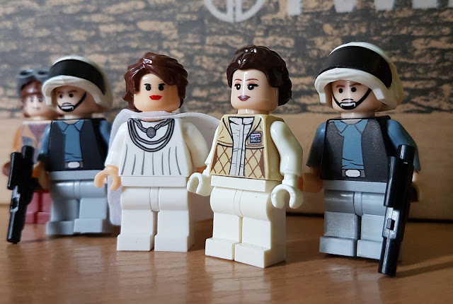 Princess Leia and Mon Mothma Star Wars