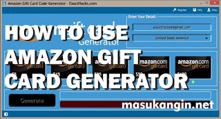 How to Use Free Amazon Gift Card Generator 2018
