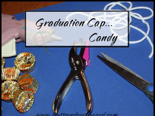 Graduation Cap Candy for Decor