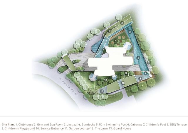 Ardmore Residence Siteplan