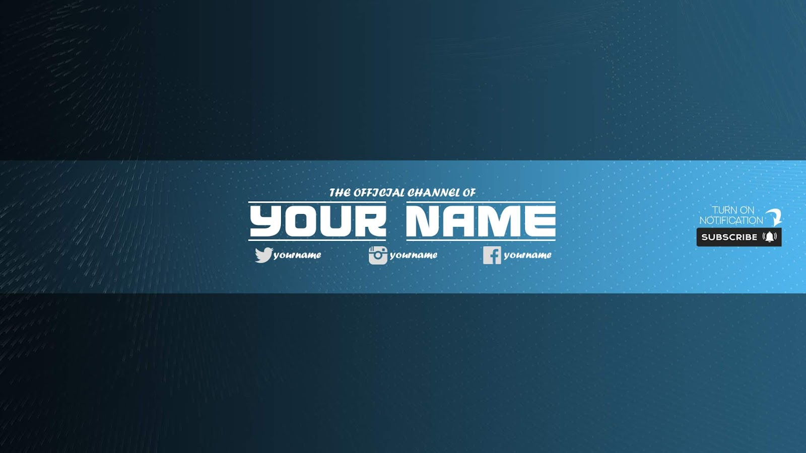 Zuhair Baloch Free Youtube Banner Template 33 Download Now