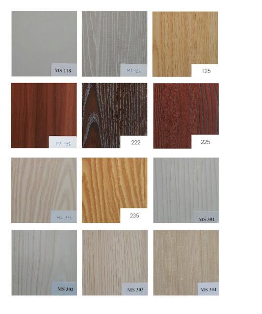 bảng màu melamine vân gỗ talab 1