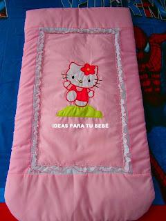 Edredón de capazo Hello Kitty
