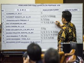Presiden Joko Widodo optimistis Pimpinan KPK terpilih akan membawa penegakan hukum di negeri ini membaik