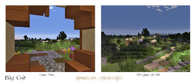minecraft hobbiton Bag End