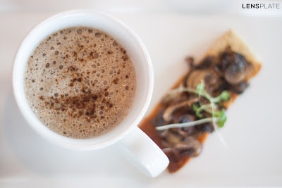 Mushroom Cappuccino at Vivanta By Taj Guwahati Assam