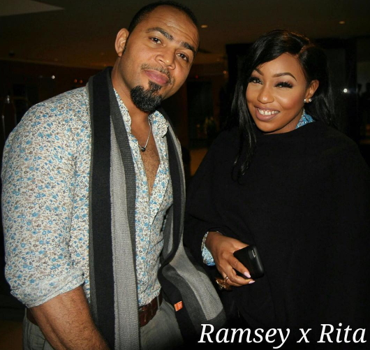 ramsey nouah rita dominic london