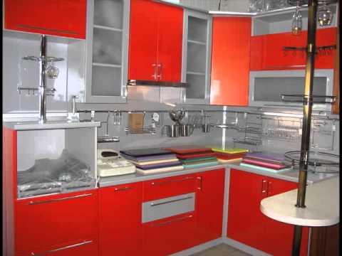 Interior Dapur Dengan Cat Orange