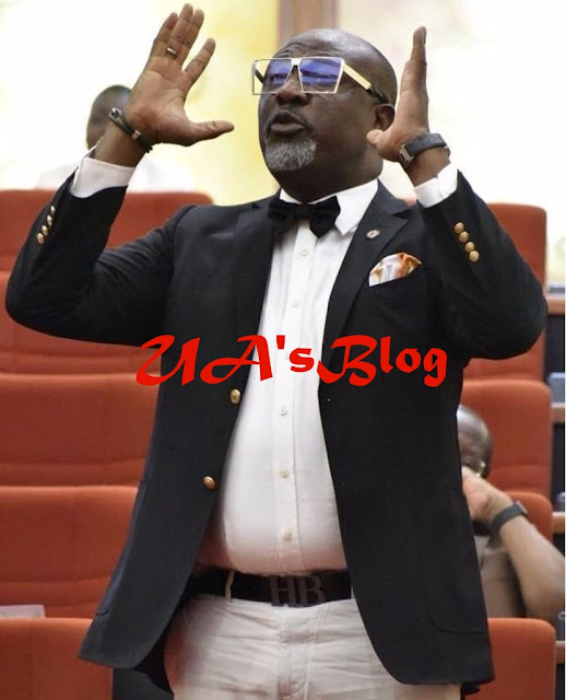 Dino Melaye Appears At Senate Plenary, Taunts Police Spokesperson Over Summon