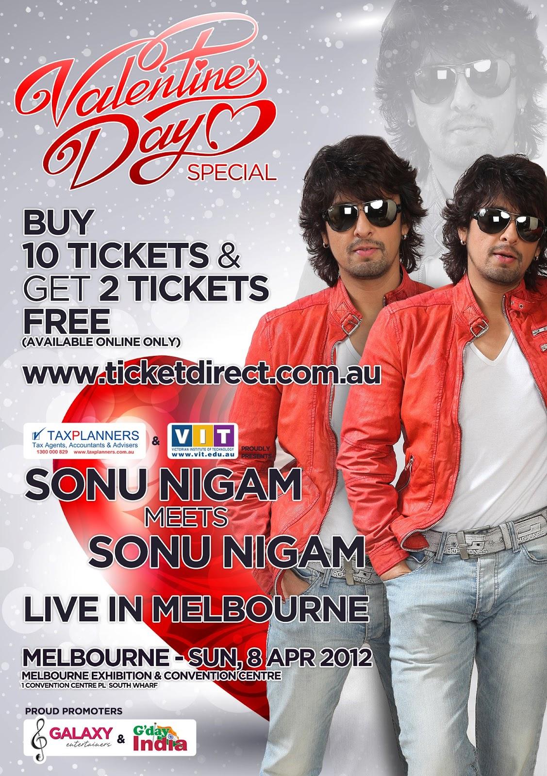 Sonu Nigam Fan: Sonu Nigam Live in Melbourne 2012