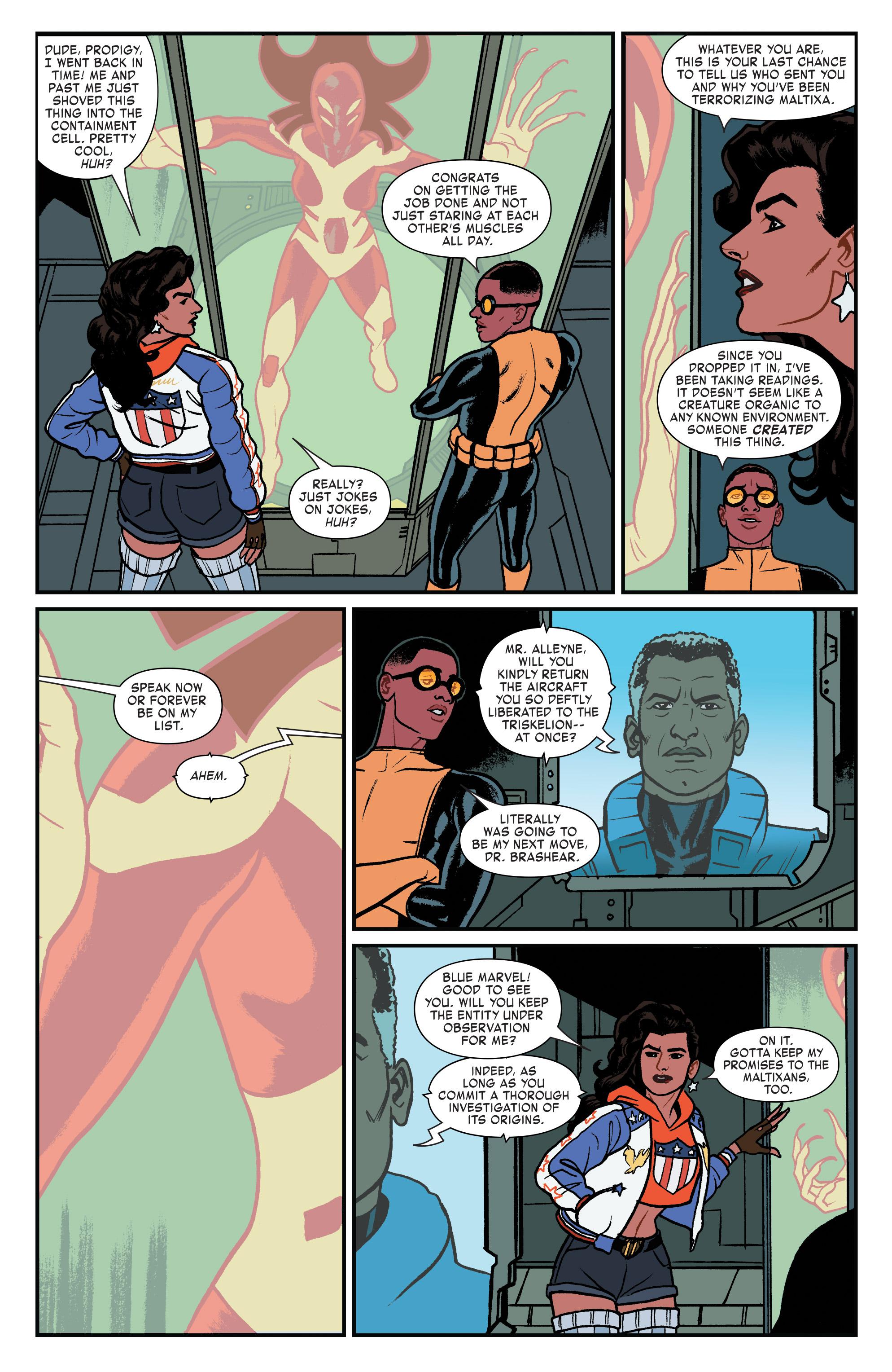 Read online America (2016) comic -  Issue #4 - 13