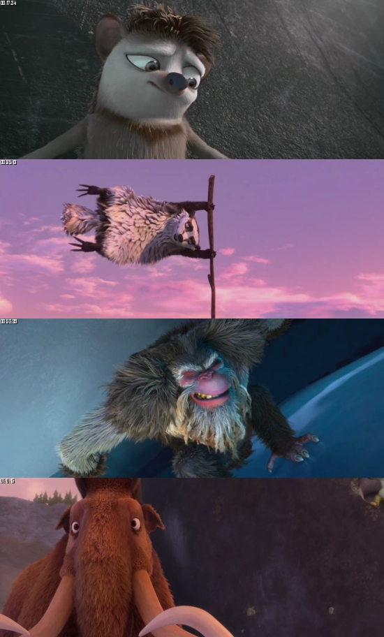 Ice Age - Continental Drift 2012 BluRay 720p 480p Dual Audio Hindi English Full Movie Download