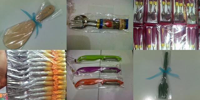 Harga Souvenir Pernikahan Alat Makan Sendok Garpu Sumpit