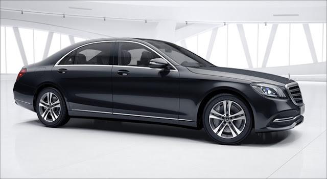 Mercedes S450 L 2019 là chiếc xe sedan 5 chỗ thiết kế ngoại thất vô cùng sang trọng và lịch lãm