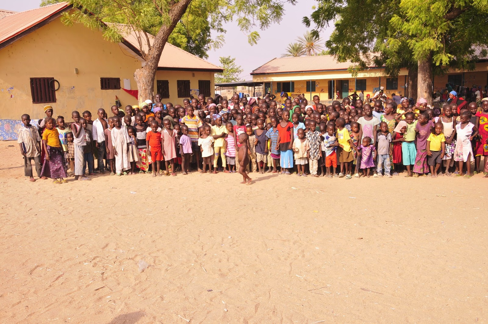 education of 501 displaced children between the ages of 1 to 14yrs at the Lamido Lawal Model Primary School, Girei LGA, in Adamawa State