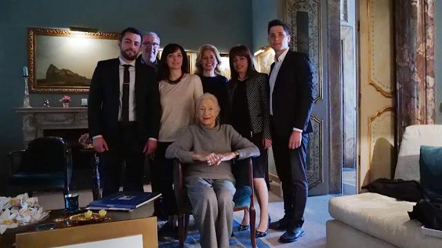 Πραγματοποιήθηκε η συνάντηση αντιπροσωπίας του Δήμου Σουλίου με την οικογένεια Bvlgari