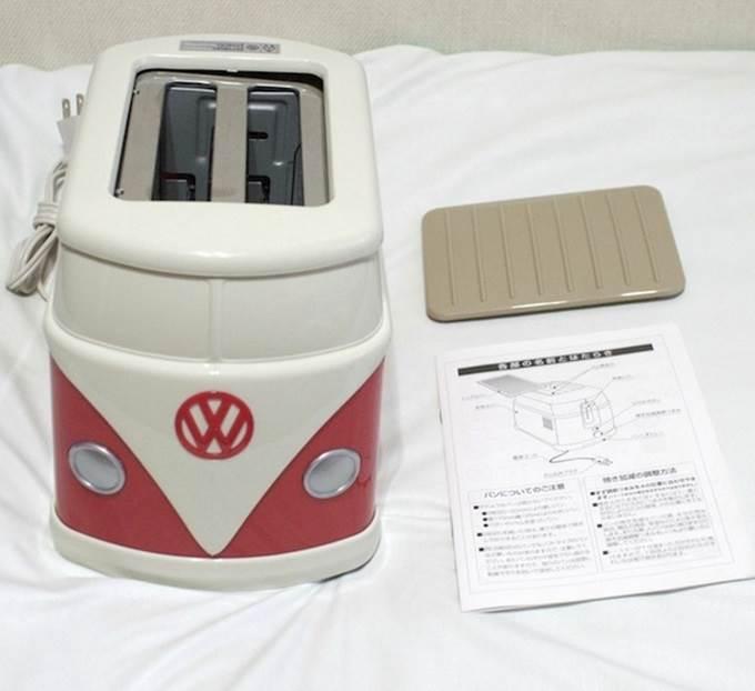 pembakar roti berbentuk volkswagen minibus yang sangat. Black Bedroom Furniture Sets. Home Design Ideas