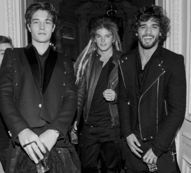 Balmain after show party