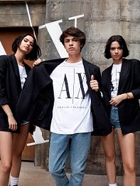A | X ARMANI EXCHANGE SS2020 AD CAMPAIGN