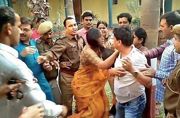 Kota, Rajasthan, Police, BJP MLA, Chandra Kanta Meghwal, Assualt, Rajasthan News