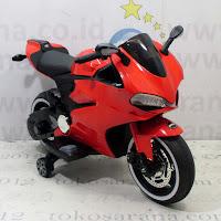 Motor Mainan Aki Pliko PK9800N New Ducati