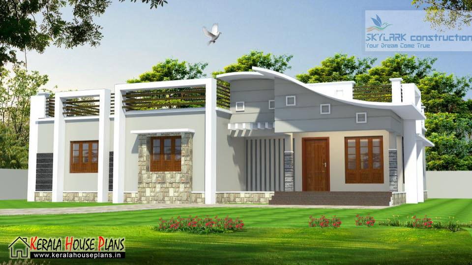 3 bedroom house plans kerala single floor kerala house for Kerala house plan 3 bedroom