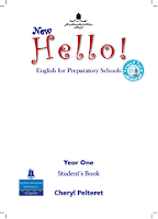 New Hello - English For Preparatory Schools - Year One - Student's Book - 2 Term