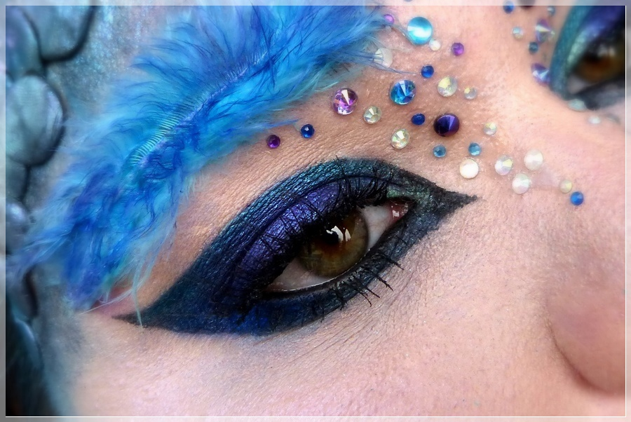 Occamy eye makeup