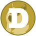 شحن عملة Dogecoin بقيمة 500$ بسعر 545$