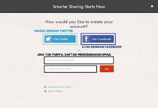 Share artikel blog otomatis ke media sosial