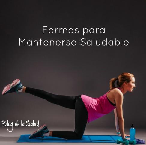 saludable y activo