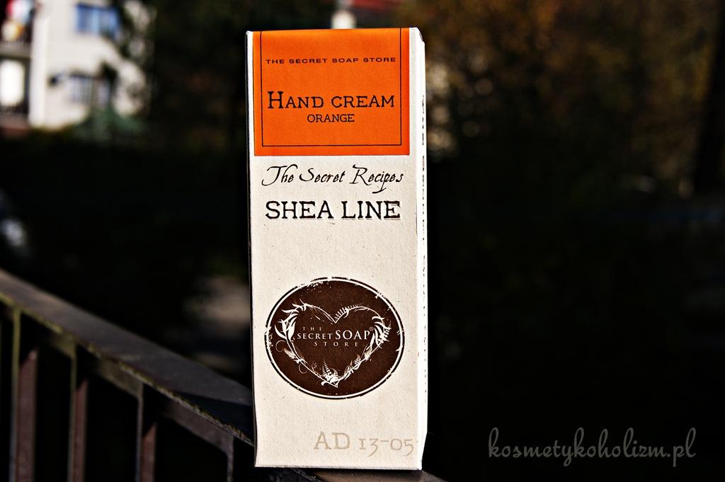 The Secret Soap Store | Krem do rąk Shea Line Pomarańcza