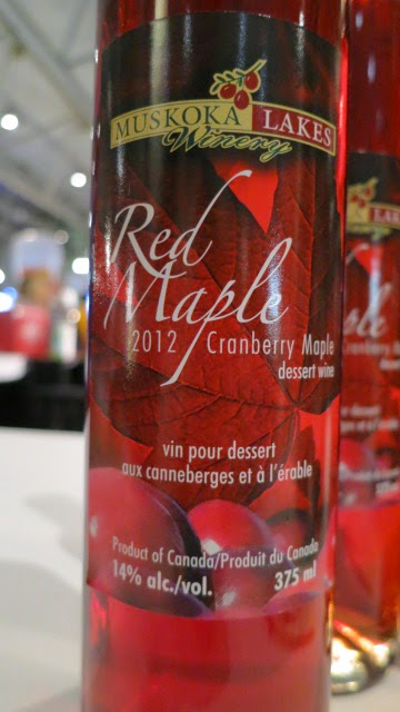 Muskoka Lakes Winery Red Maple 2012
