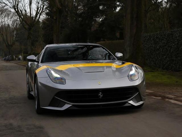 Ferrari F12berlinetta Tour de France 64 rinde homenaje a las victorias del pasado