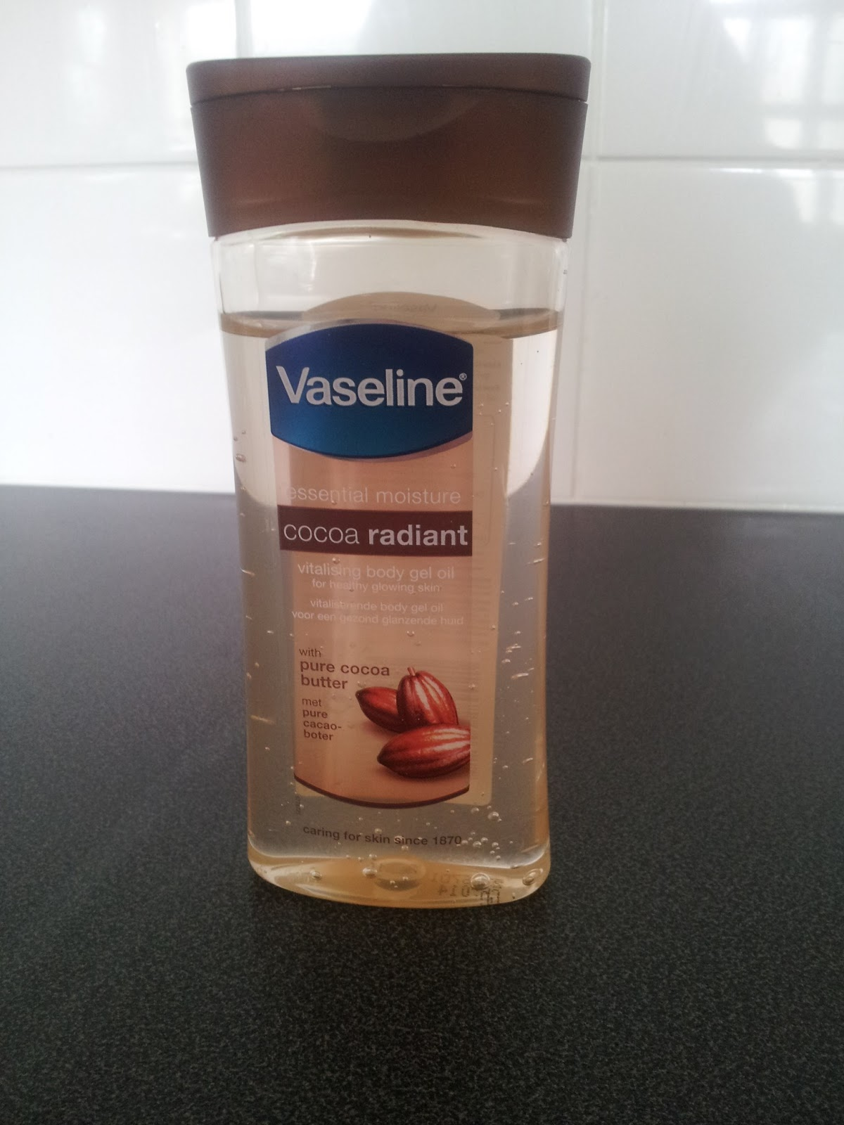 Vaseline Cocoa Butter Gel Oil Review | My Mummy's World