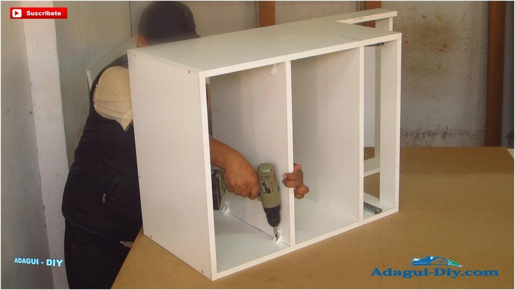 Muebles para la cocina de melamine como hacer práctico mueble ...