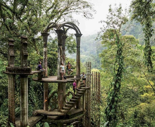 Jardín de Edward James, la abstracción entre la selva y el concreto