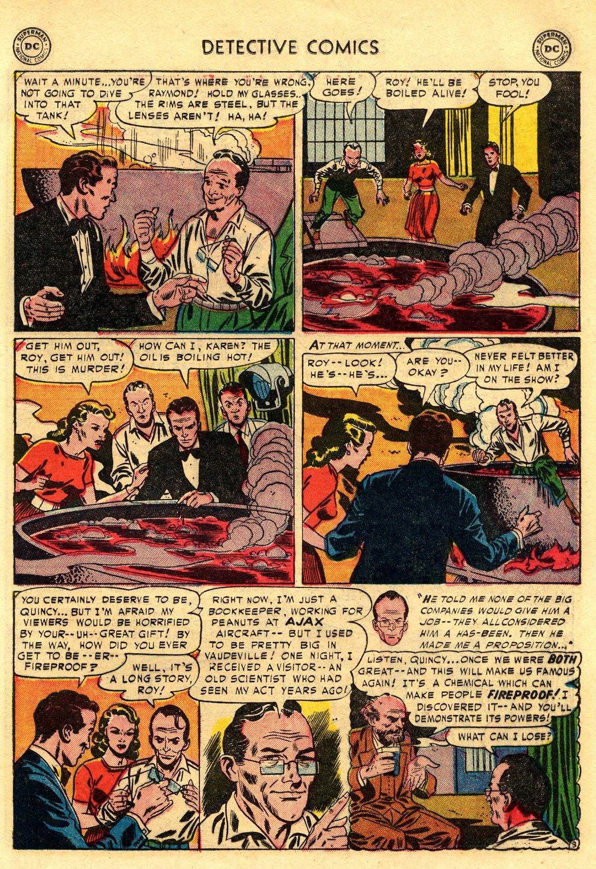 Read online Detective Comics (1937) comic -  Issue #203 - 19
