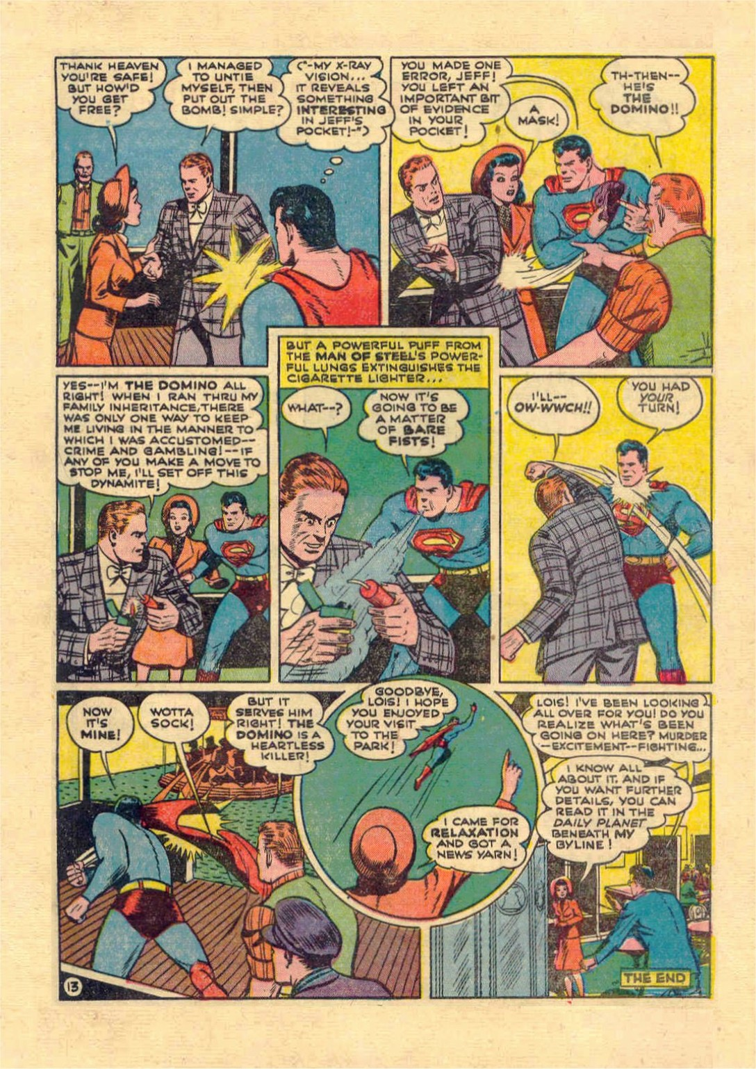 Read online Action Comics (1938) comic -  Issue #46 - 14