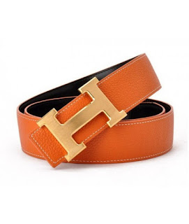 a73cc1488832c ... best hermes genuine orange black leather reversible golden h buckle belt.  product details 83ccb 417e7 ...