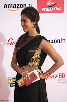 Sindhu looks fabulous in Black Saree designer choli at Mirchi Music Awards South 2017 ~  Exclusive Celebrities Galleries 050.JPG
