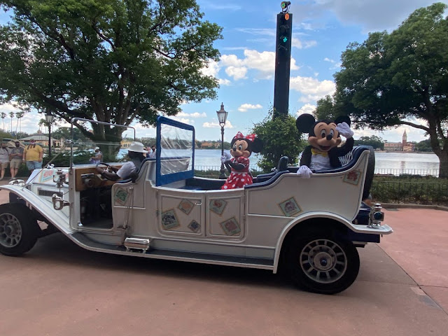 new cavalcade Mickey and Friends World Tour Phased Reopening EPCOT Walt Disney World Resort