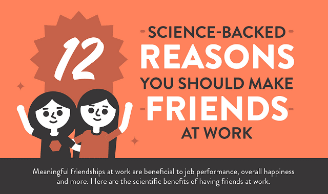12 Science-Backed Reasons You Should Make Friends at Work